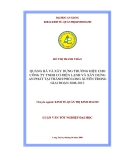 Luận văn: Quảng bá và xây dựng thương hiệu cho công ty TNHH cơ-điện lạnh và xây dựng An Phát tại thành phố Long Xuyên trong giai đoạn 2008-2012