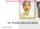 Bài giảng Tư tưởng Hồ Chí Minh: Chương I - Lê Văn Bát