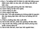 Bài giảng Tư tưởng Hồ Chí Minh: Kiểm tra - Lê Văn Bát