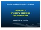 Bài giảng Triết học (sau đại học): Học thuyết hình thái kinh tế - xã hội - Dr. Vũ Tình