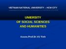 Bài giảng Triết học (sau đại học): Nguyên tắc thống nhất giữa lý luận với thực tiễn - Dr. Vũ Tình