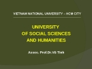 Bài giảng Triết học (sau đại học): Chủ nghĩa duy vật biện chứng – Cơ sở lý luận của thế giới quan khoa học - Dr. Vũ Tình