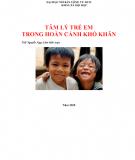 Tâm lý học trẻ em trong hoàn cảnh khó khăn - ThS. Nguyễn Ngọc Lâm