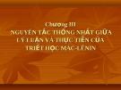 Bài giảng Triết học (cao học): Chương III - PGS.TS. Phạm Công Nhất