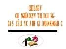 Bài giảng Triết học (cao học): Chương V