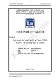 Chuyên đề Tốt nghiệp: Quản trị cung ứng vật tư tại Công ty Cổ Phần Nagakawa Việt Nam - Thực trạng và giải pháp