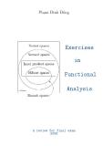 Bài tập Giải tích hàm và lời giải chi tiết - Phạm Đình Đồng