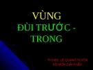 Bài giảng Vùng đùi trước - trong - ThS.BS. Lê Quang Tuyền