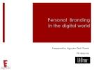 Xây dựng thương hiệu cá nhân trong thời đại số 2014 - Nguyen Dinh Thanh
