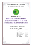Đề cương chi tiết Nghiên cứu đánh giá sinh khối rừng tràm U Minh Hạ và đề xuất các giải pháp phát triển bền vững