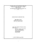 Báo cáo chuyên đề: Hệ sinh thái rừng ngập mặn