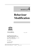 Module 4: Behaviour Modification - Wilma Guez, John Allen Cover