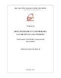 Luận văn thạc sĩ: Phân tích hành vi và mô hình hóa lan truyền của sâu Internet - Vũ Hoàng Anh