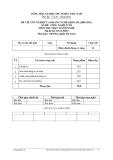 Đề thực hành Công nghệ ô tô năm 2012 (Mã đề TH35)