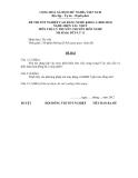Đề thi & đáp án lý thuyết Điện tàu thủy năm 2012 (Mã đề LT11)