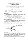 Đề thi & đáp án lý thuyết Điện công nghiệp năm 2012 (Mã đề LT9)
