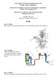 Đề thi & đáp án lý thuyết Công nghệ ô tô năm 2012 (Mã đề LT14)