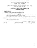 Đề thi & đáp án lý thuyết Điều khiển tàu biển năm 2012 (Mã đề LT5)