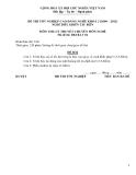 Đề thi & đáp án lý thuyết Điều khiển tàu biển năm 2012 (Mã đề LT4)