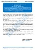 Luyện thi Đại học Kit 1 - Môn Toán: Các vấn đề về khoảng cách Phần 9 (Bài tập tự luyện)