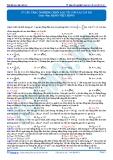57 Câu trắc nghiệm chọn lọc về con lắc lò xo - Đặng Việt Hùng