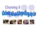 Bài giảng Quản trị dự án: Chương 8 - TS. Huỳnh Thanh Điền