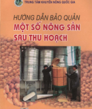 Phương pháp bảo quản nông sản sau thu hoạch: Phần 1