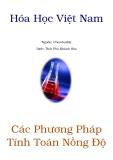 Tài liệu Hóa học Việt Nam: Các phương pháp tính nồng độ