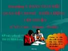 Bài giảng Kế toán quản trị: Bài 3 - ThS. Võ Minh Long