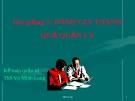 Bài giảng Kế toán quản trị: Bài 5 - ThS. Võ Minh Long