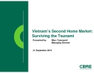 Vietnam's Second Home Market: Surviving the Tsunami -  Marc Townsend, Managing Director