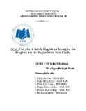 Tiểu luận: Các yếu tố ảnh hưởng tới sự đói nghèo của đồng bào dân tộc Raglai ở tỉnh Ninh Thuận