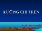 Bài giảng Giải phẫu: Xương chi trên - Bs. Lê Quang Tuyền