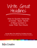 Write Great Headlines