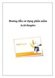 Hướng dẫn sử dụng phần mềm ActivInspire