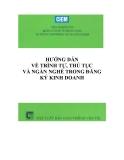 Ebook Hướng dẫn về trình tự thủ tục và ngành nghề trong đăng ký kinh doanh: Phần 1 - NXB Giao thông Vận tải