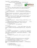 Đề thi tuyển sinh vào 10 chuyên Hóa  năm 2009 - Sở GD&ĐT Đồng Nai