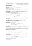 Đề thi thử kì thi quốc gia chung môn Toán 2015 - THPT Lục Ngạn số 1