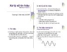 Bài giảng Xử lý số tín hiệu