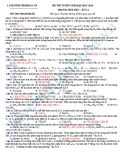 Đề thi thử Đại học môn Hóa khối A năm 2013 - Đề13