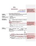 Mẫu cv dành cho kế toán thuế bằng Tiếng Anh