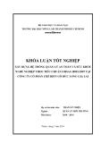 Luận văn tốt nghiệp: Xây dựng hệ thống quản lý an toàn và sức khỏe nghề nghiệp theo tiêu chuẩn OHSAS 18001:2007 tại công ty cổ phần chế biến gỗ Đức Long Gia Lai