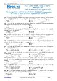 Chuyên đề LTĐH môn Sinh học: Các công thức và phân dạng bài tập ADN