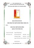 Báo cáo Bài tập lớn môn Phân tích thiết kế hệ thống thông tin: Phân tích thiết kế hệ thống quản lý thư viện sách