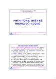 Bài giảng Phân tích và thiết kế hướng đối tượng - ĐH Bách khoa TP.HCM