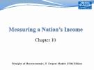 Principles of Macroeconomics: Chapter 10 - N. Gregory Mankiw