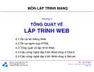 Bài giảng môn Lập trình mạng: Chương 4 - TS. Nguyễn Văn Hiệp