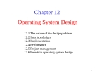 Lecture Operating System: Chapter 12 - University of Technology
