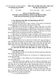 Báo cáo thuyết minh Tình hình và kết quả điều tra, khảo sát giá đất thị trường thuộc địa bàn thành phố Cao Lãnh, tỉnh Đồng Tháp