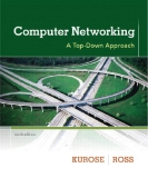 Computer Networking: A Top-Down Approach (6th Edition) -  James F. Kurose,  Keith W. Ross